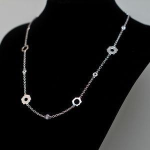 Jewelry - 925S Tacori White Topaz Necklace